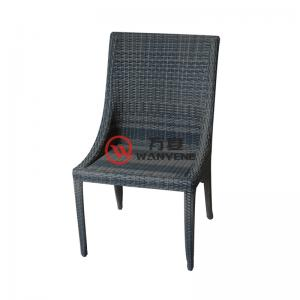 Outdoor chair alloy structure rattan chair heat-re...