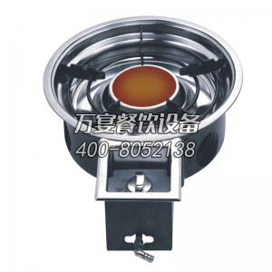 hotpot restaurant use gas burner, natural gas burning flame fire stove, stainless steel hotpot cooker