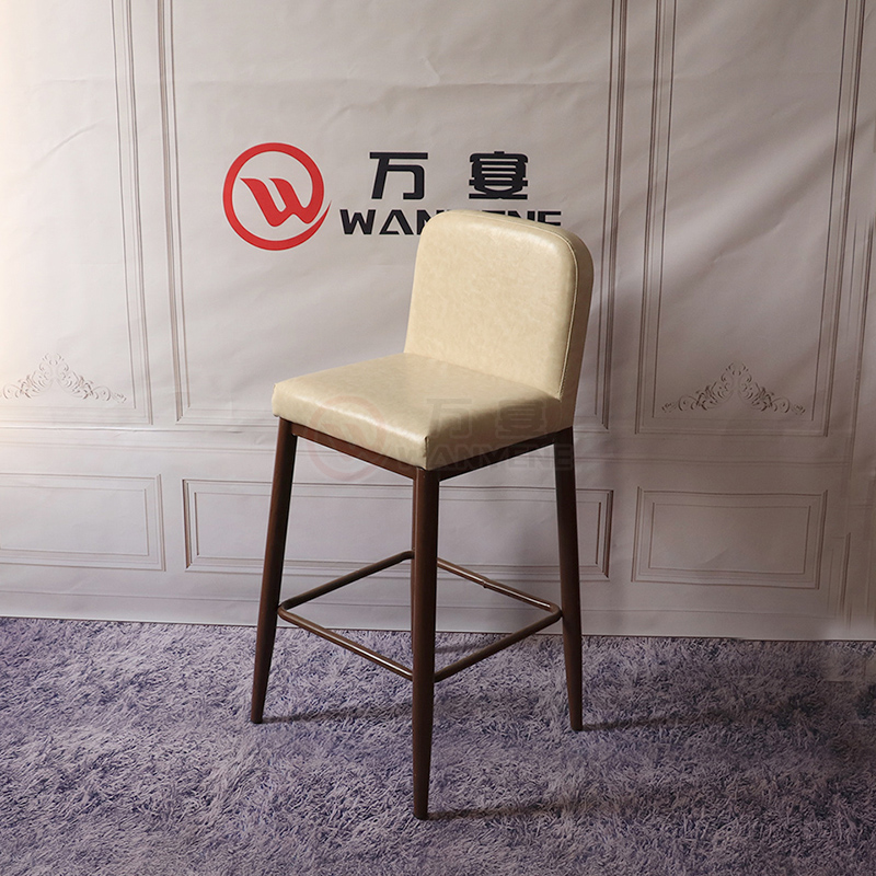 Bar chair high bar stool Soft cushions personalized custom Metal frame bar chair --The Product Image' style=
