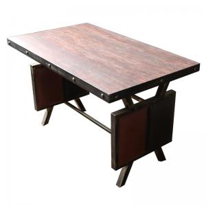 Antique hardware hot pot table Fire board desktop ...