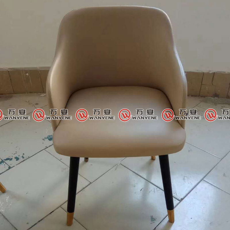 Fantastic Solid Wood Legs Leisure Chair Restaurant Leather Dining Beatyapartments Chair Design Images Beatyapartmentscom